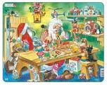 Рамка-вкладыш Larsen Мастерская Санта Клауса (EA2), 140 дет.