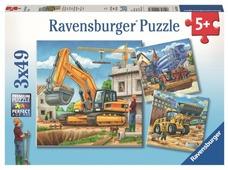 Набор пазлов Ravensburger Большие строительные машины (09226)