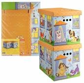 Набор для хранения Valiant Киски и собачки 28х38х32 см (KCTN-CD-2M)