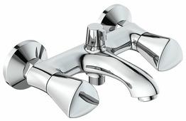 Двухрычажный смеситель для ванны с душем IDDIS Bounce BOUSB02i02