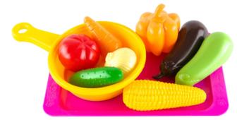 Набор продуктов с посудой Пластмастер Будь здоров 21020