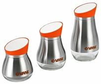 VANI Набор банок для сыпучих продуктов V9234 3 шт.
