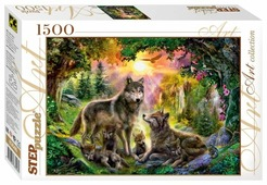 Пазл Step puzzle Art Collection Волки (83046), 1500 дет.