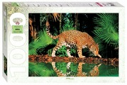 Пазл Step puzzle Animal Collection Леопард у воды (79011), 1000 дет.