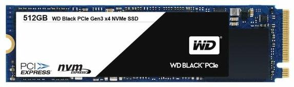 Твердотельный накопитель Western Digital WD Black PCIe SSD 512 GB (WDS512G1X0C)