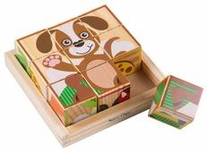 Кубики-пазлы Melissa & Doug Animals Cube Puzzle