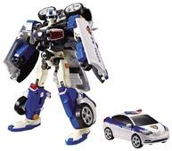 Робот-трансформер YOUNG TOYS Tobot C Полиция со звуком и светом 301014