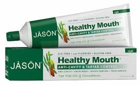 Зубная паста JASON Healthy Mouth фтор Чайное дерево и корица