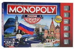 Настольная игра Hasbro Игры Monopoly Россия (новая версия)