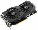Видеокарта ASUS GeForce GTX 1050 Ti 1290MHz PCI-E 3.0 4096MB 7008MHz 128 bit 2xDVI HDMI DisplayPort HDCP Strix Gaming