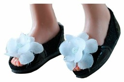 Tonner Обувь Firmly Planted Black & White Shoe Set для кукол Ellowyne, 3 пары