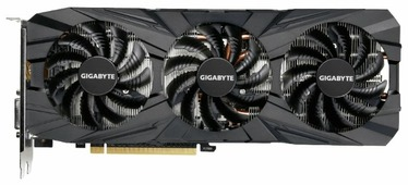 Видеокарта GIGABYTE GeForce GTX 1080 Ti 1544MHz PCI-E 3.0 11264MB 11010MHz 352 bit DVI HDMI HDCP Gaming OC Black