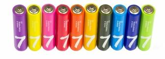 Батарейка Xiaomi AAA Rainbow 7