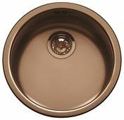 Врезная кухонная мойка smeg UM103PRA 43.5х43.5см нержавеющая сталь