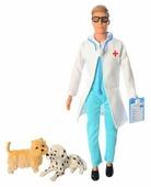 Кукла Defa Lucy Ветеринар с 2 собачками 33 см 8347