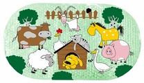 Коврик для ванной Valiant Домашние Животные