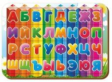 Рамка-вкладыш Woodland Буквы и алфавит (092207), 32 дет.