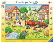 Пазл Ravensburger Жизнь на ферме (06582), 24 дет.