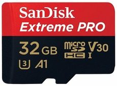 Карта памяти SanDisk Extreme Pro microSDHC Class 10 UHS Class 3 V30 A1 100MB/s + SD adapter