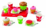 Набор продуктов с посудой Ecoiffier Завтрак на подносе 2611