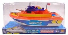 """Игрушка для ванной ABtoys Катер """"Морской патруль"""" (C-00202)"""