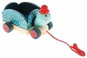 Каталка-игрушка DJECO Черепашка Клементин (06250)