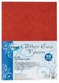Цветная бумага Eva glitter CENTRUM, A4, 10 л., 10 цв.