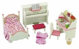 Игровой набор Sylvanian Families Детская комната бело-розовая 2953