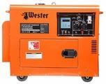 Дизельный генератор Wester GND 4800D (4200 Вт)