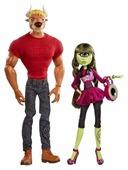Набор кукол Monster High Мэнни Таур и Айрис Клопс, 30 см, BHN07