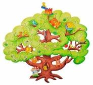 Пазл Woody Чудесное дерево (280), 39 дет.