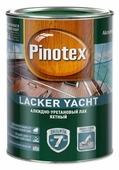 Лак яхтный Pinotex Lacker Yacht полуматовый (1 л) алкидно-уретановый