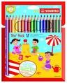 STABILO Цветные карандаши Trio thick 18 цветов (203/18-01)