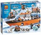 Конструктор BELA (Lari) Urban 10443 Ледокол и полярная станция с транспортом