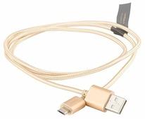 Кабель Rombica Twist USB - microUSB 1 м