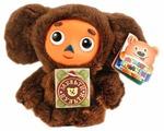 Мягкая игрушка Мульти-Пульти Чебурашка коричневый 14 см, муз. чип
