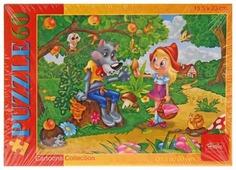 Пазл Hatber Cartoons Collection Красная шапочка (60ПЗ5_10709), 60 дет.