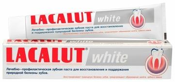 Зубная паста LACALUT White 75 мл (4010439210068)