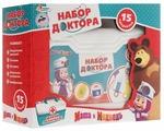 Набор доктора Играем вместе Маша и медведь (219299)