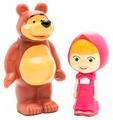 Набор для ванной Играем вместе Маша и Медведь (117R-PVC)