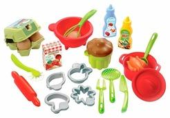 Набор продуктов с посудой Ecoiffier Chef 2617