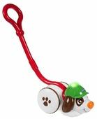 Каталка-игрушка Chicco Собака-детектив (74170) со звуковыми эффектами