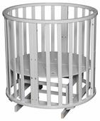 Кроватка Антел Северянка 3 поперечный маятник+колесо (трансформер)