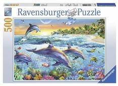Пазл Ravensburger Бухта дельфинов (14210), 500 дет.