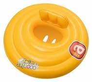 Круг для плавания Bestway трехкамерный Swim Safe ступень A, 32096 BW