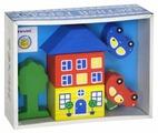 Кубики Томик Цветной городок голубой 8688-3
