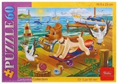 Пазл Hatber Cartoons Collection Щенок на скейте (60ПЗ5_11631), 60 дет.