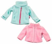 Gotz Комплект флисовых курток для кукол 45 - 50 см 3402679