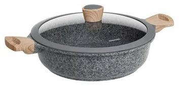 Сотейник Nadoba Mineralica 728415 28 см с крышкой