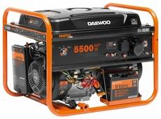 Бензиновый генератор Daewoo Power Products GDA 6500E (5000 Вт)